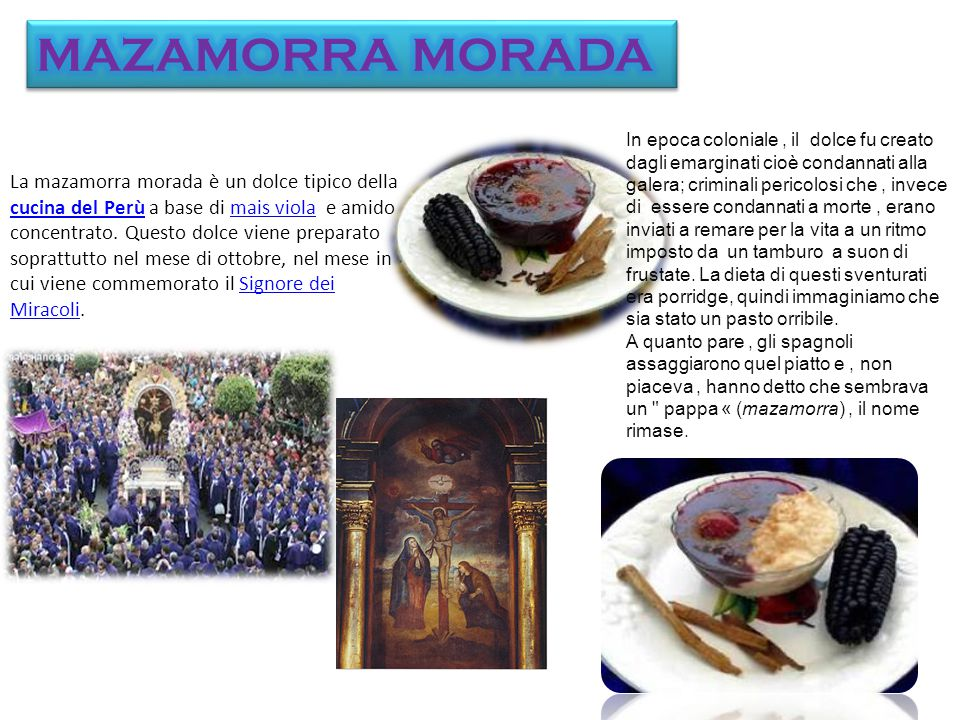 MAZAMORRA MORADA