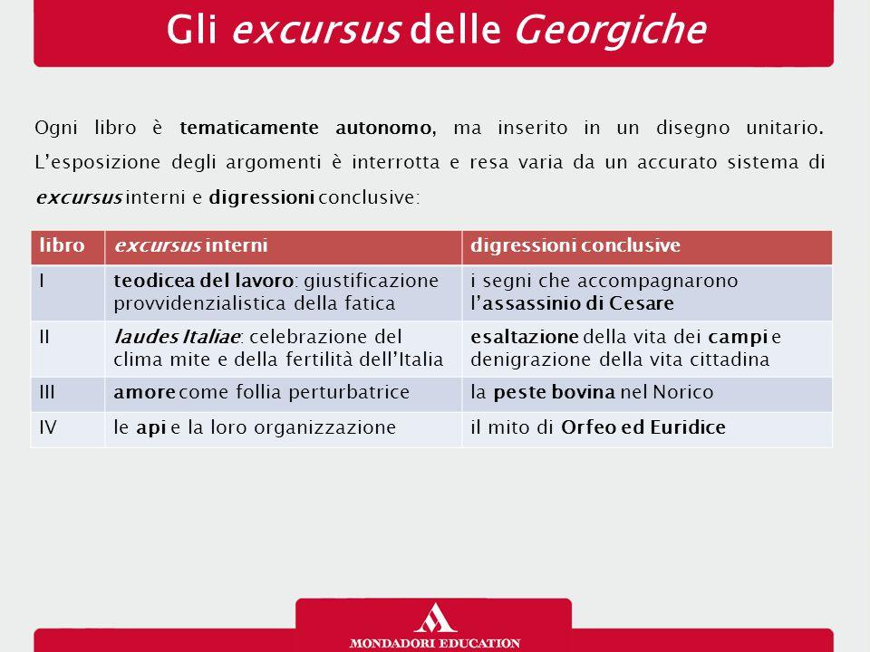 Gli excursus delle Georgiche