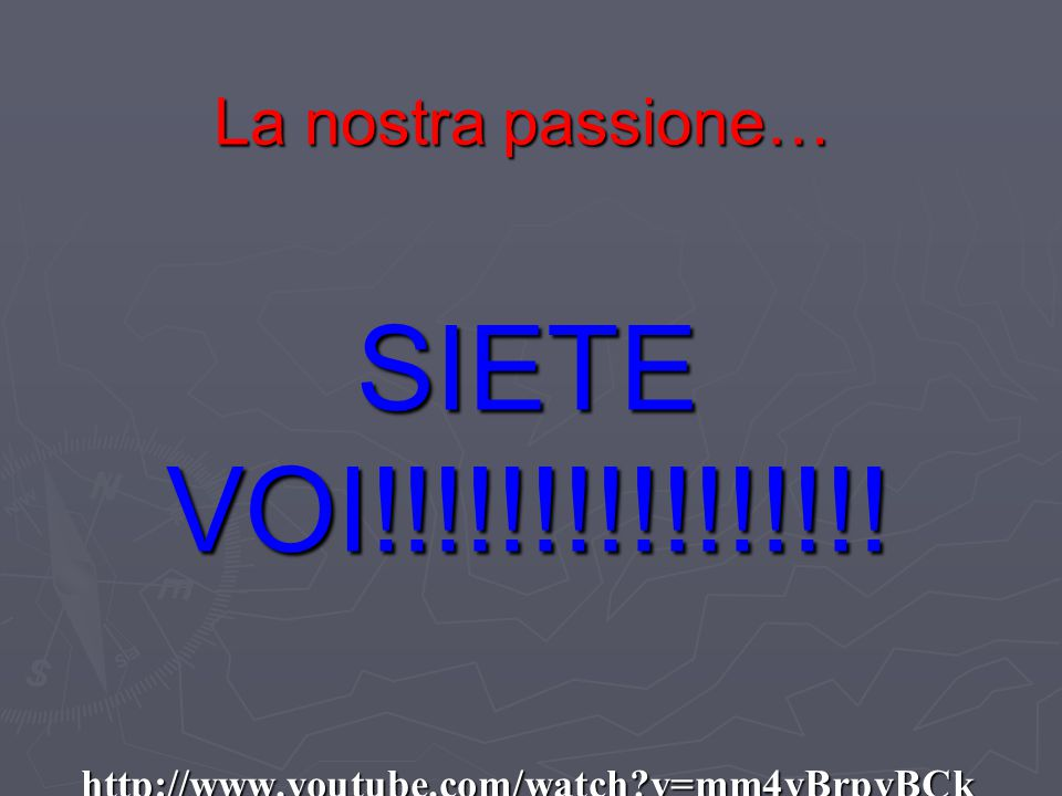 SIETE VOI!!!!!!!!!!!!!!!! http://www.youtube.com/watch v=mm4yBrpvBCk