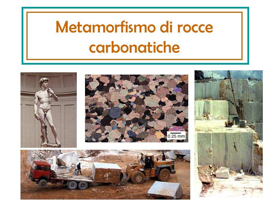 Metamorfismo di rocce carbonatiche