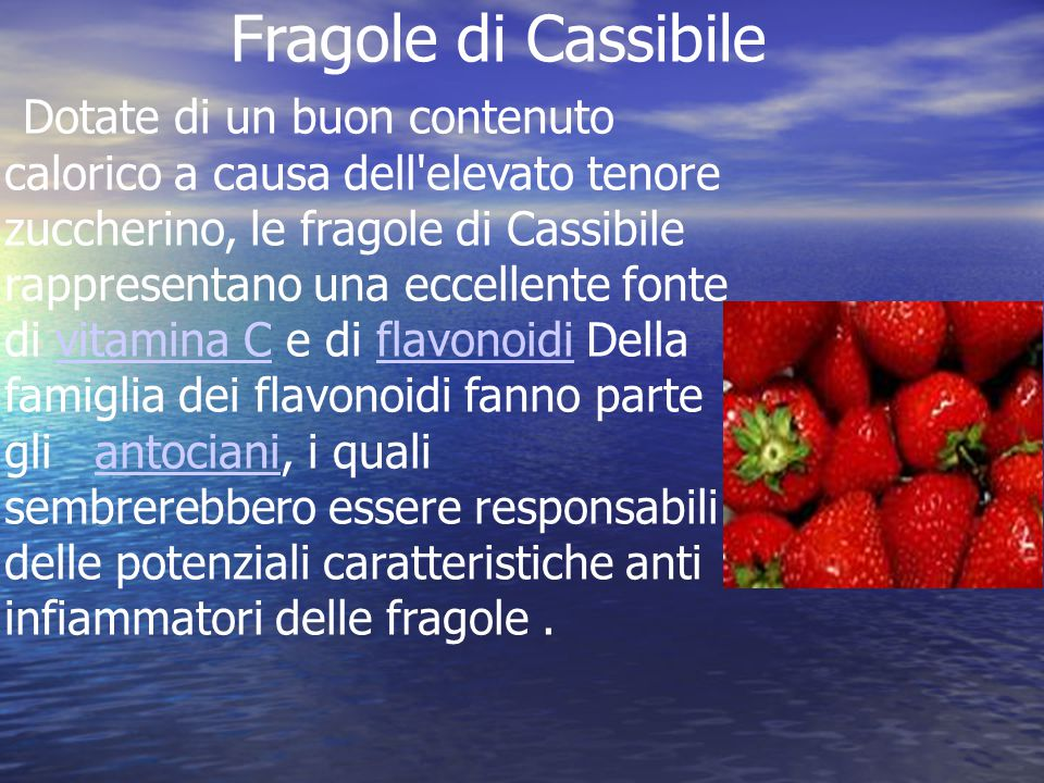 Fragole di Cassibile