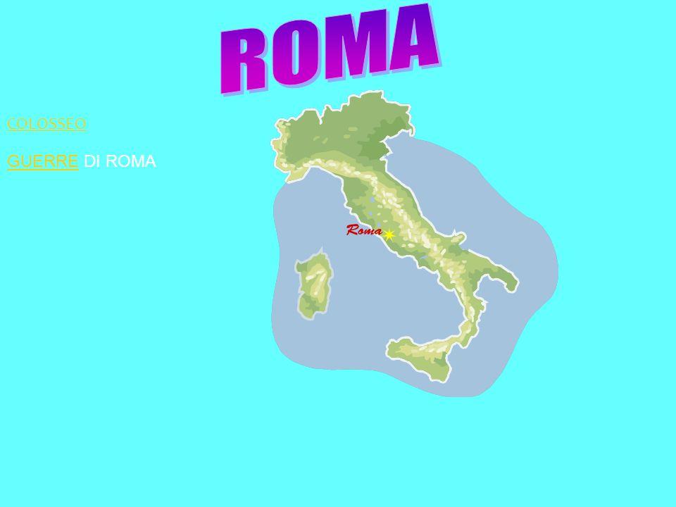 ROMA COLOSSEO GUERRE DI ROMA