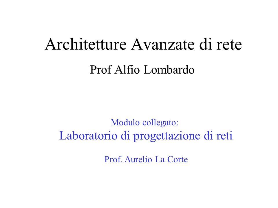 Architetture Avanzate di rete