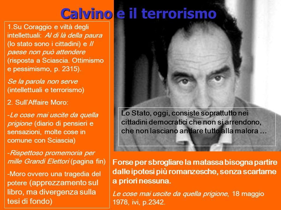 Calvino e il terrorismo