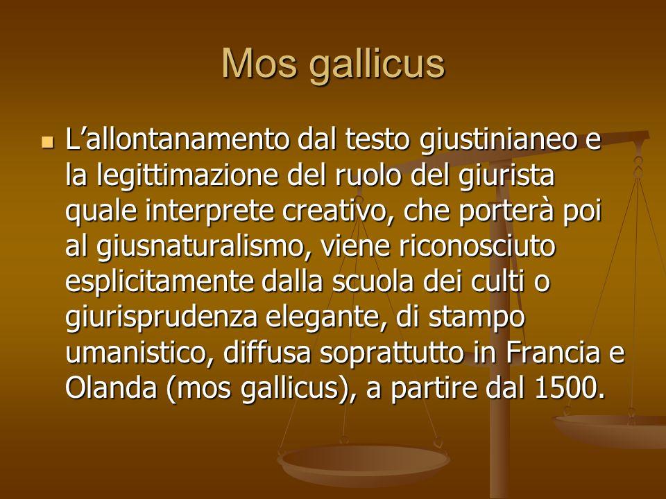 Mos gallicus