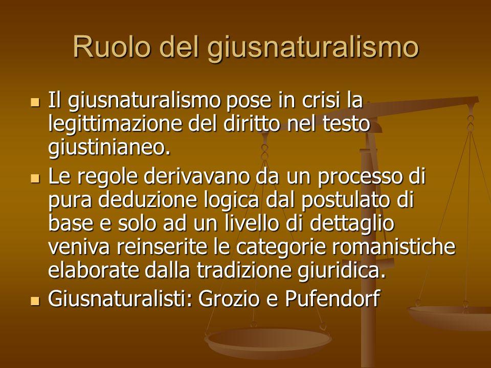 Ruolo del giusnaturalismo