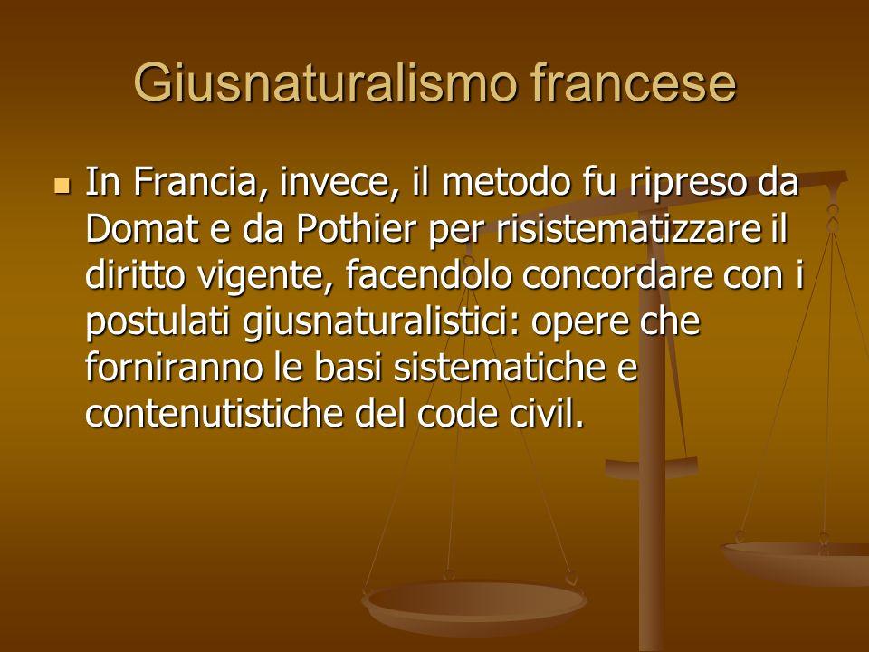 Giusnaturalismo francese