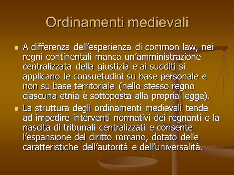Ordinamenti medievali
