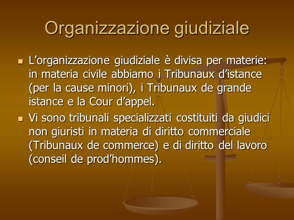 Organizzazione giudiziale
