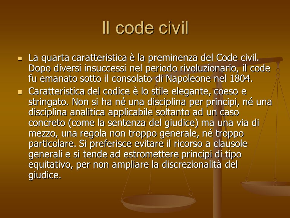 Il code civil