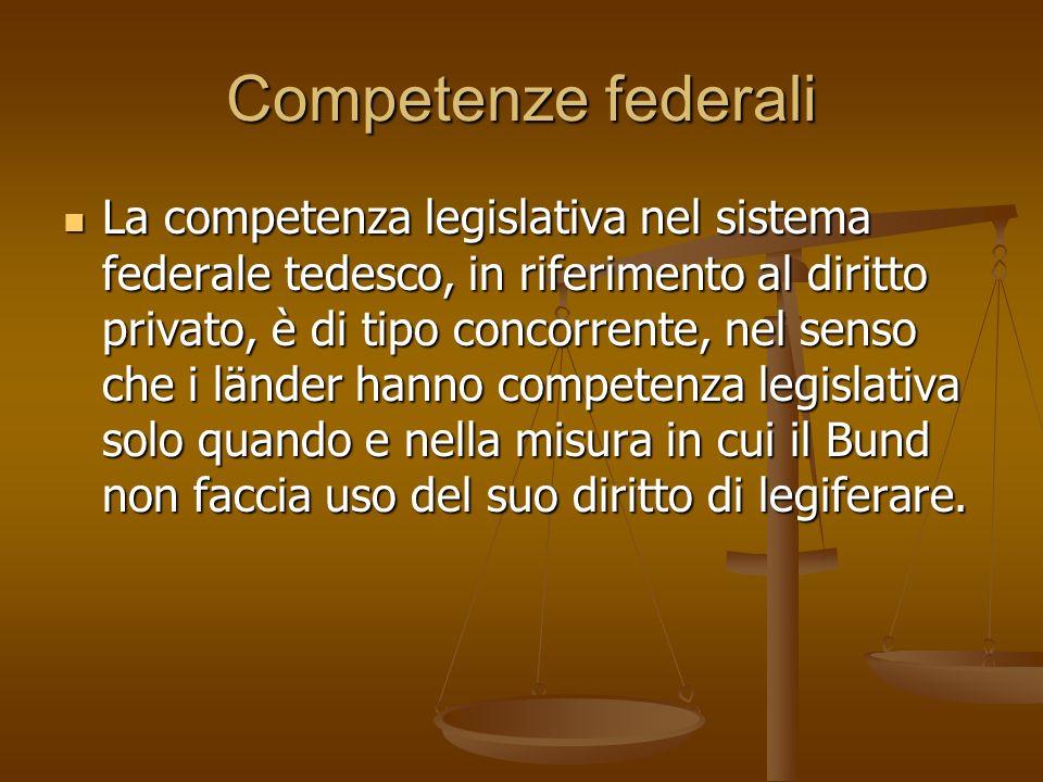 Competenze federali