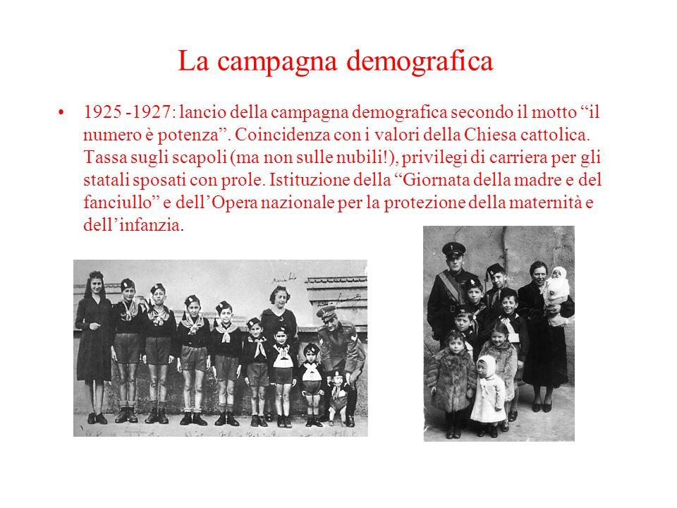 La campagna demografica