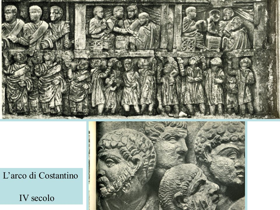 L'arco di Costantino IV secolo