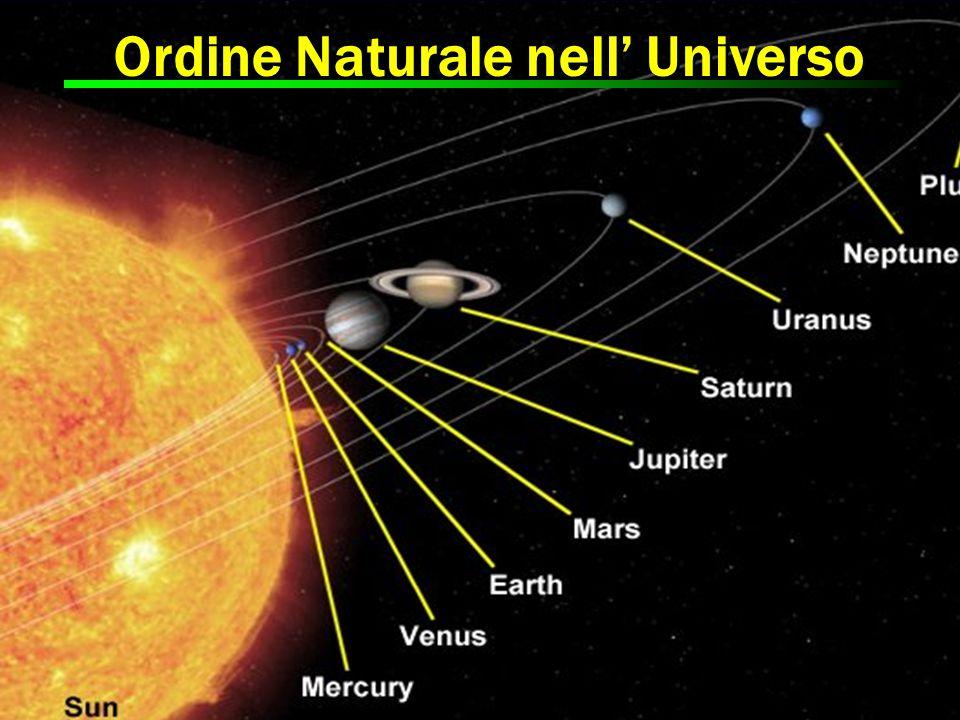 Ordine Naturale nell' Universo