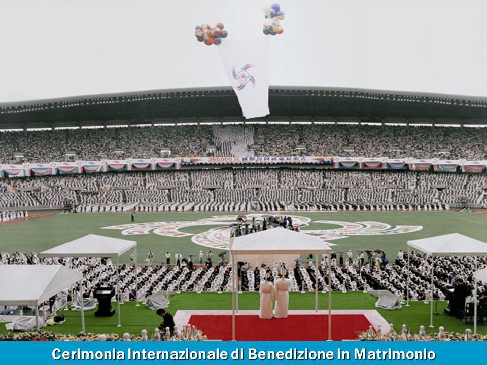 Cerimonia Internazionale di Benedizione in Matrimonio