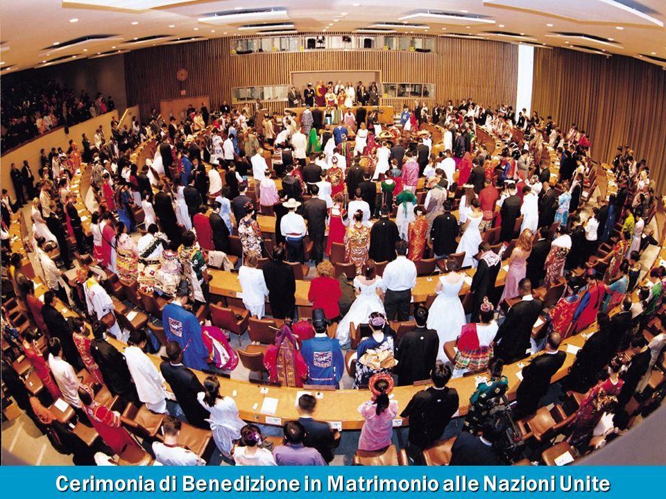 Cerimonia di Benedizione in Matrimonio alle Nazioni Unite