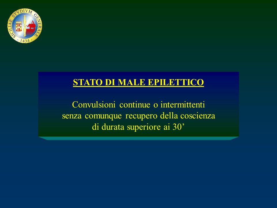 STATO DI MALE EPILETTICO