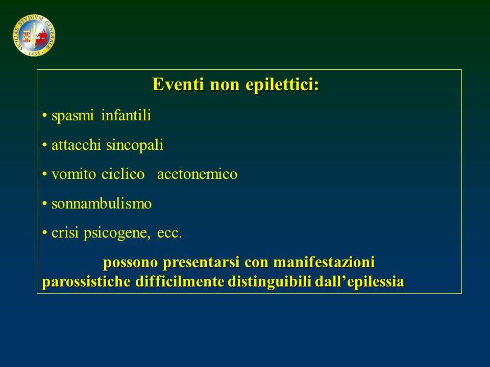 Eventi non epilettici: