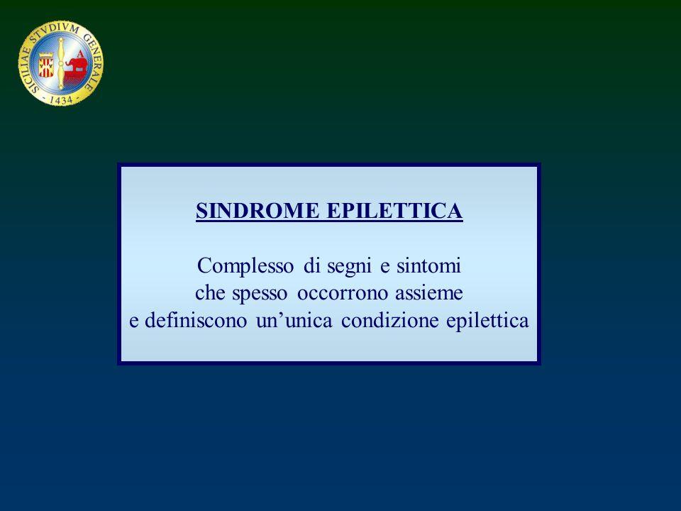 Complesso di segni e sintomi che spesso occorrono assieme