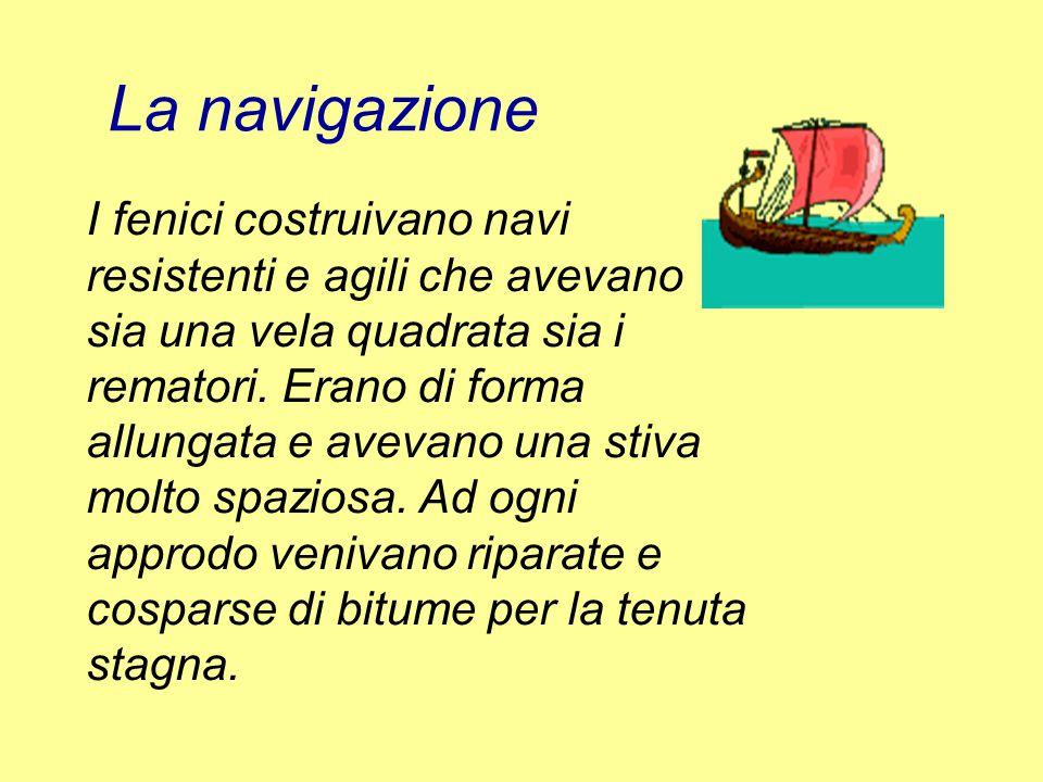La navigazione