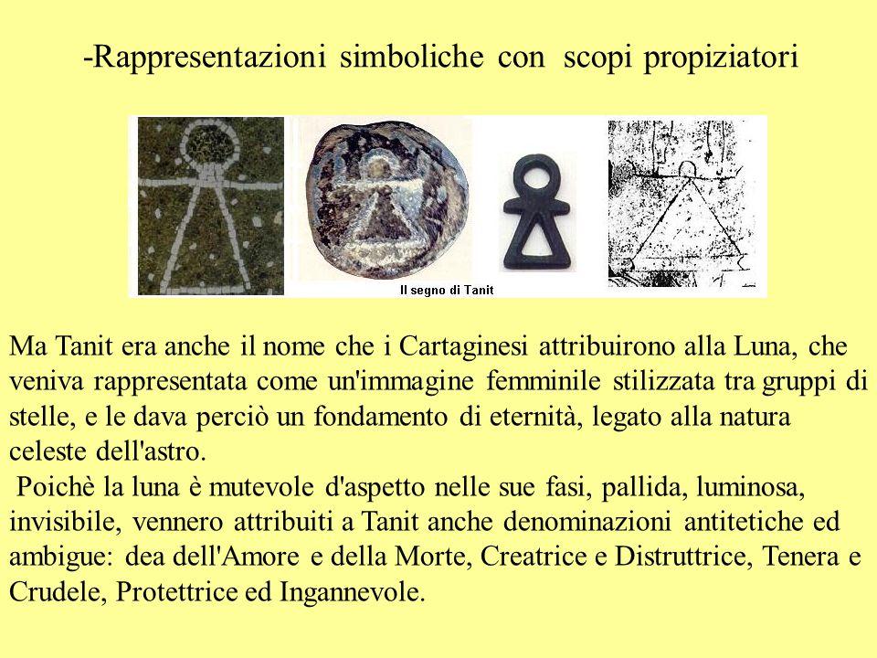 -Rappresentazioni simboliche con scopi propiziatori