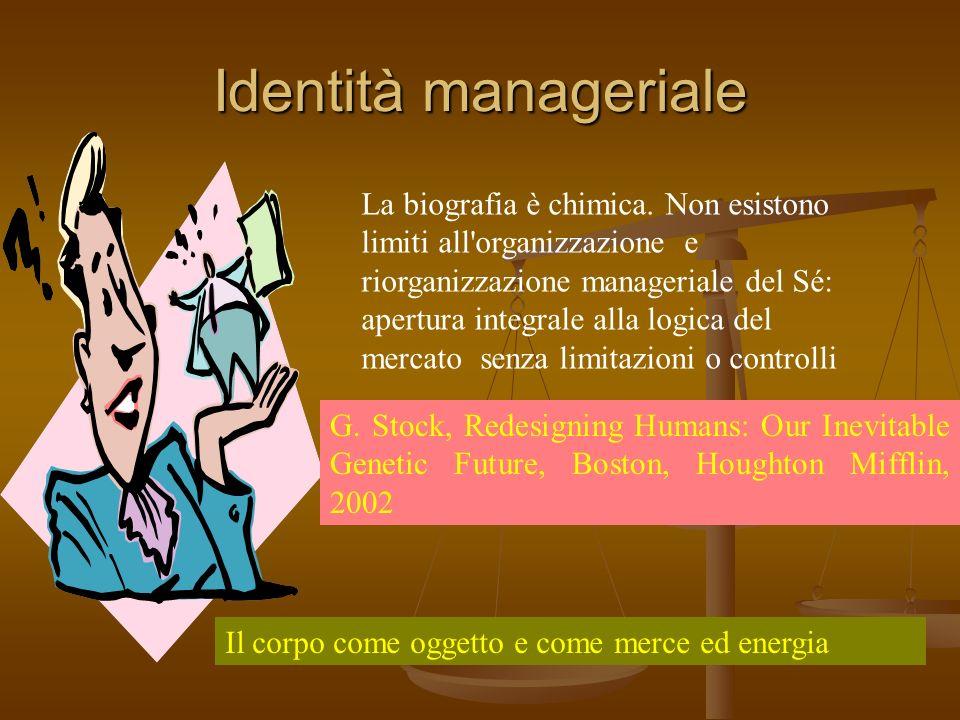 Identità manageriale