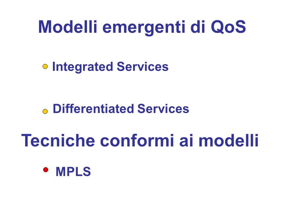 Modelli emergenti di QoS