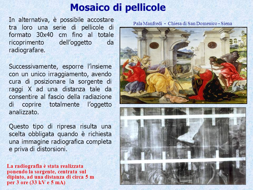Mosaico di pellicole