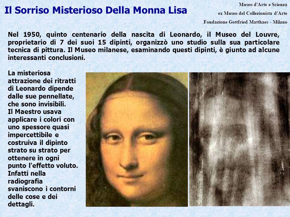 Il Sorriso Misterioso Della Monna Lisa