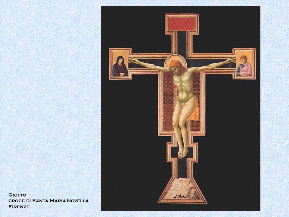 Giotto croce di Santa Maria Novella Firenze