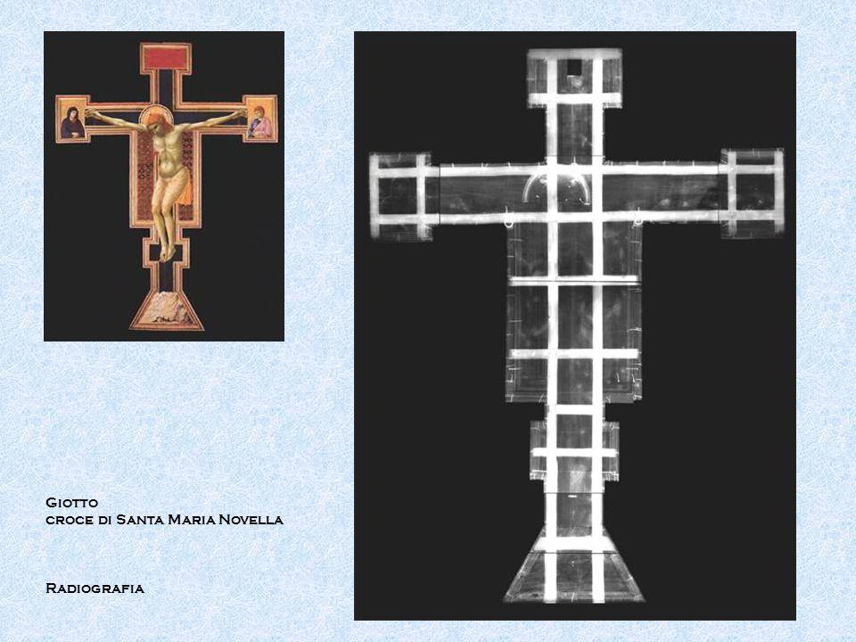 Giotto croce di Santa Maria Novella Radiografia