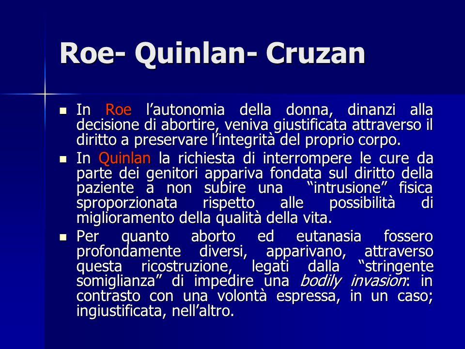 Roe- Quinlan- Cruzan