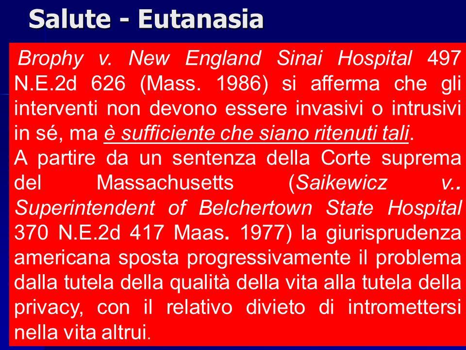 Salute - Eutanasia