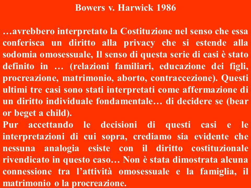 Bowers v. Harwick 1986