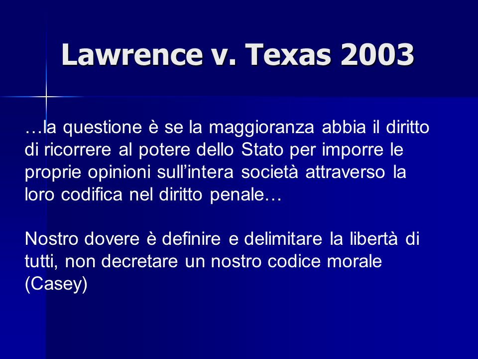 Lawrence v. Texas 2003