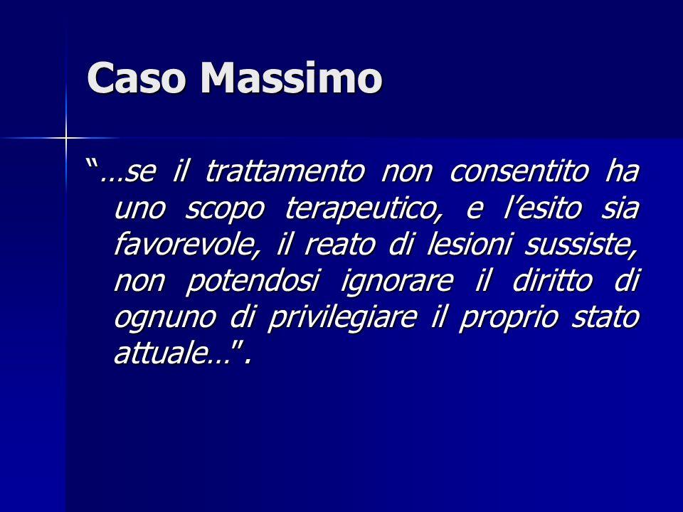 Caso Massimo