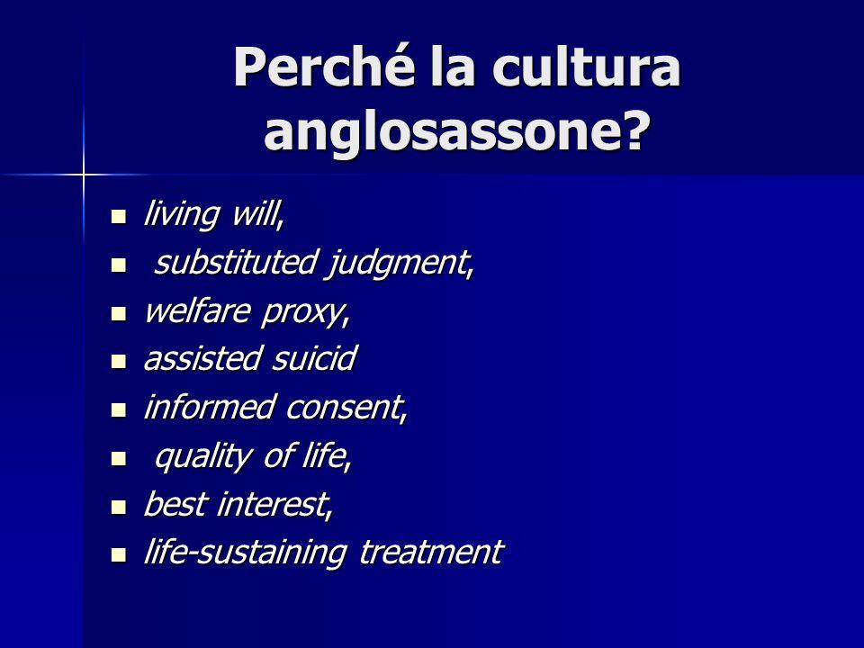Perché la cultura anglosassone