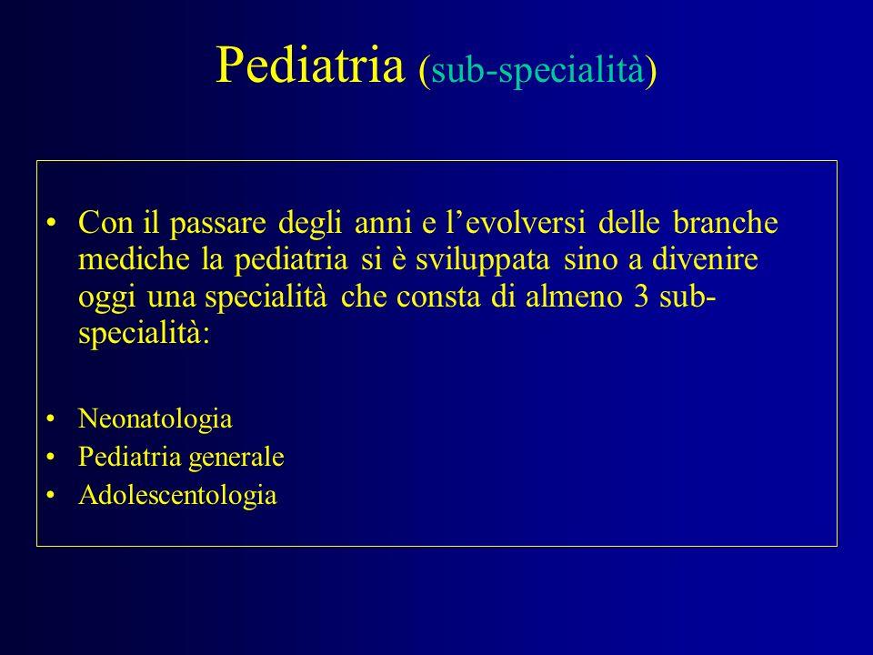 Pediatria (sub-specialità)