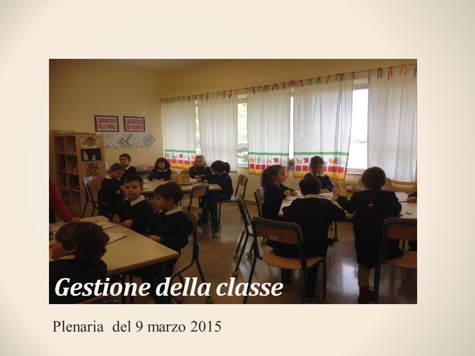 Gestione della classe Plenaria del 9 marzo 2015