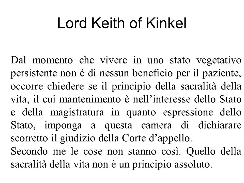 Lord Keith of Kinkel
