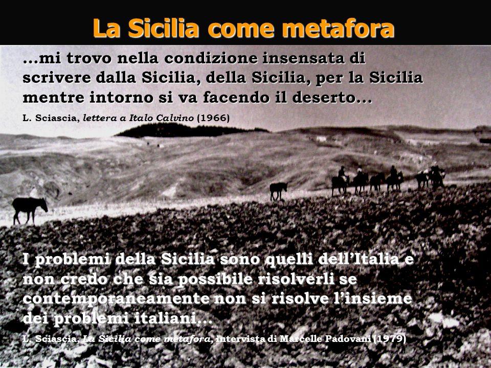 La Sicilia come metafora