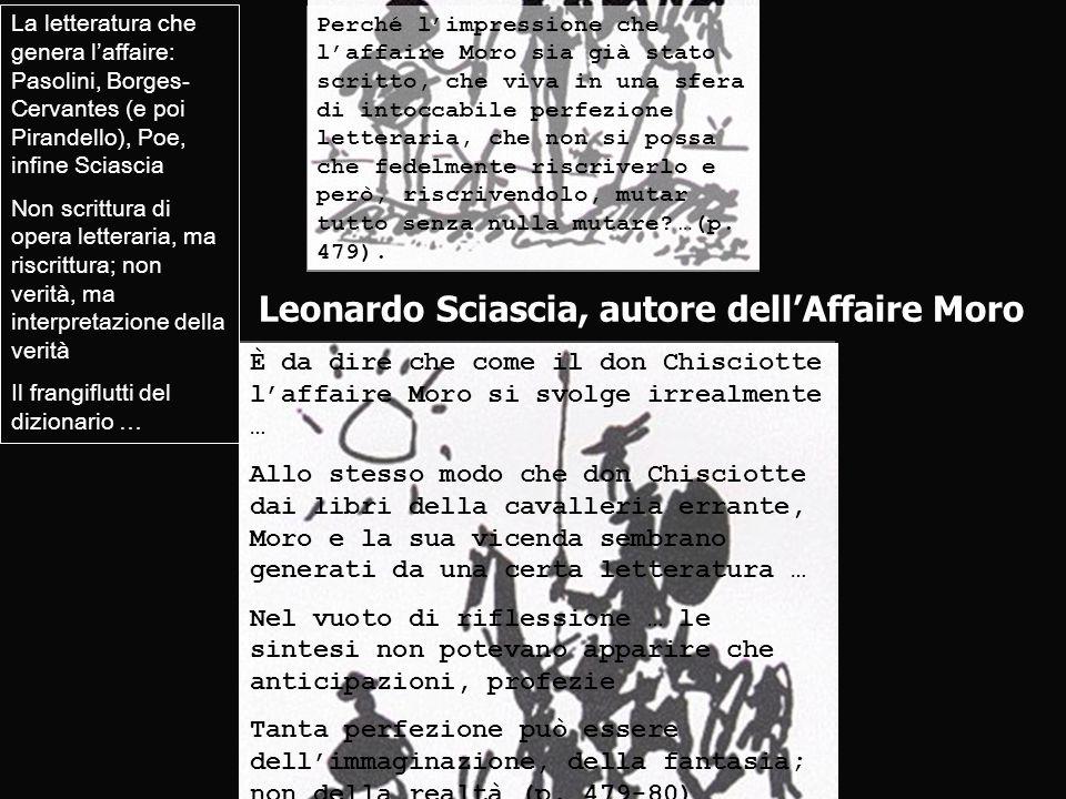 Leonardo Sciascia, autore dell'Affaire Moro