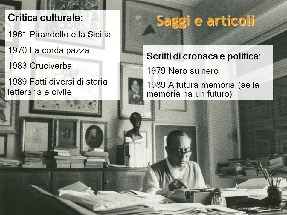 Saggi e articoli Critica culturale: Scritti di cronaca e politica: