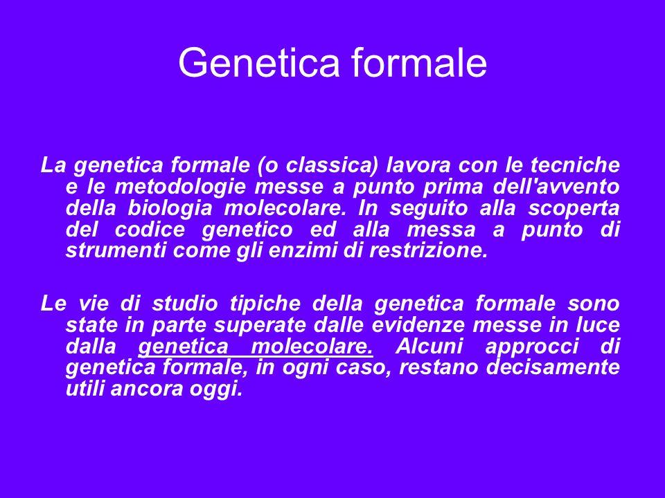 Genetica formale
