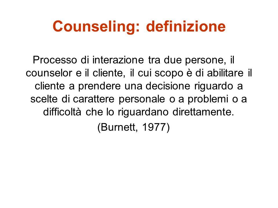 Counseling: definizione