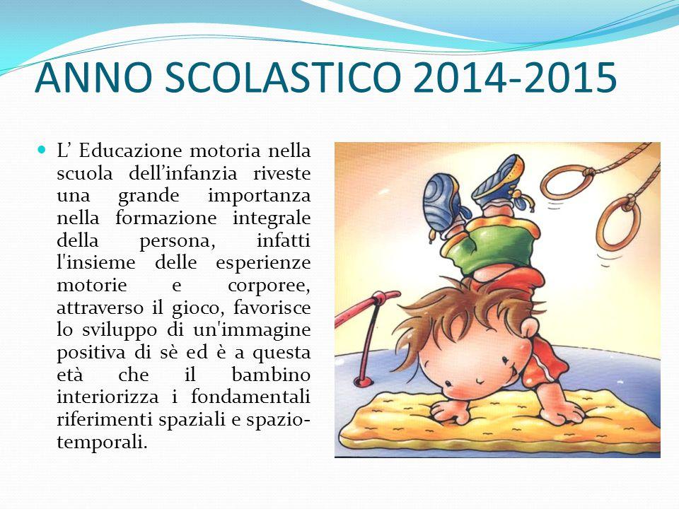 ANNO SCOLASTICO 2014-2015