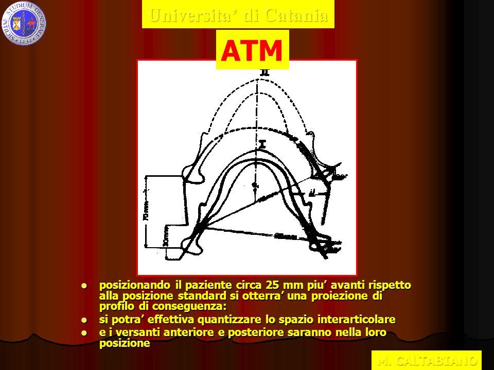 ATM Universita' di Catania M. CALTABIANO