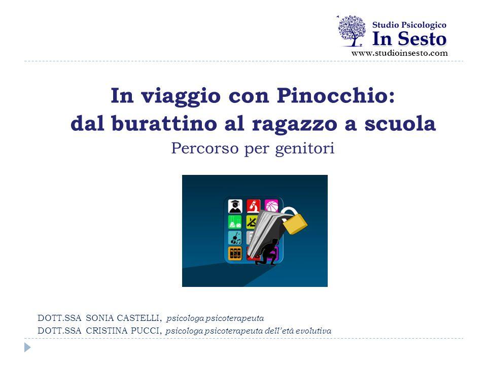 In viaggio con Pinocchio: dal burattino al ragazzo a scuola