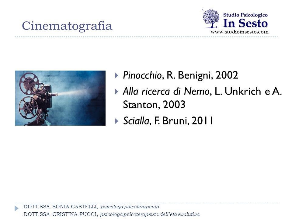 Cinematografia Pinocchio, R. Benigni, 2002
