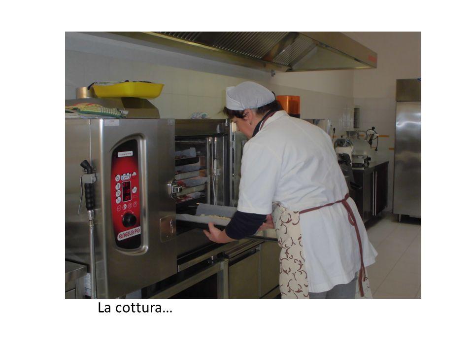 La cottura…